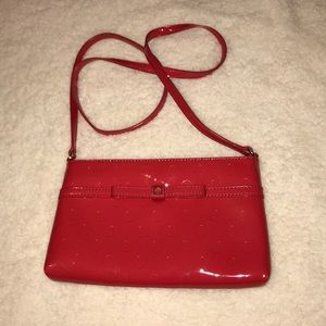 Kate Spade Red Patent Leather Crossbody